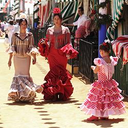 Bildergalerie Sevilla – Feria de Abril in Farbe