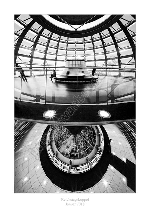 Reichstagskuppel, 01-2018