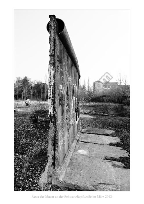 Mauerreste an der Schwartzkopfstraße, 03-2012