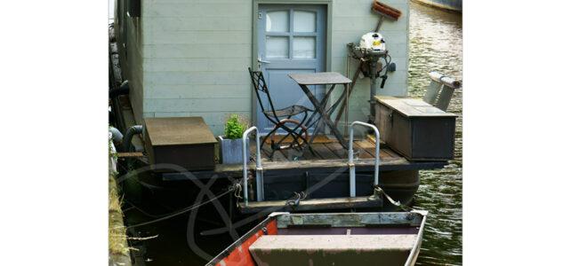 Grachten und Hausboote